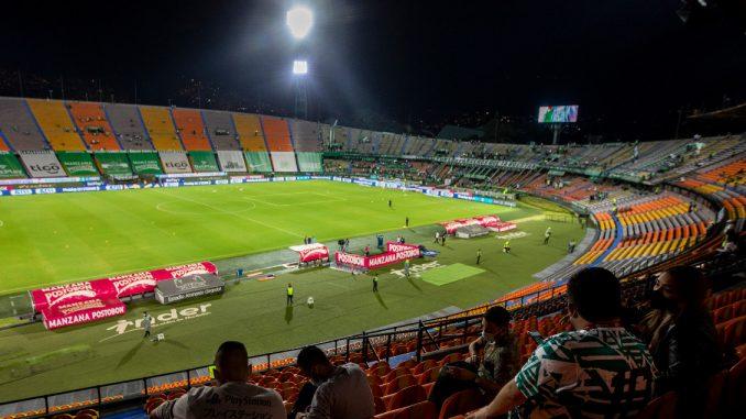 Como en Bogotá, en Medellín también podrían habilitar un aforo del 50 % para ir a ver fútbol; esta es la razón por la que no lo han hecho - Noticias de Colombia