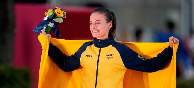 ¡Celébralo, Colombia! La marchista Sandra Lorena Arenas ganó medalla de plata en Tokio - Noticias de Colombia