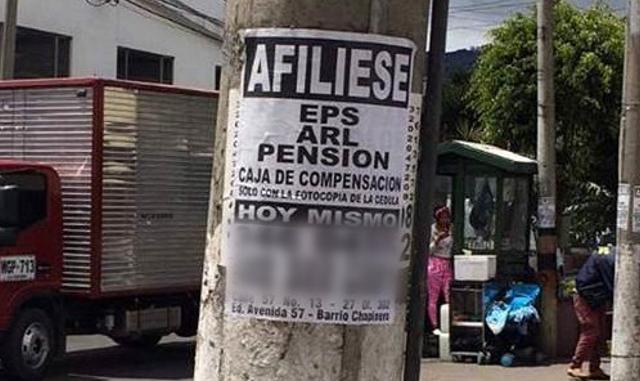 ¡Pilas con las afiliadoras de poste! Conozca cuando hay que desconfiar - Noticias de Colombia