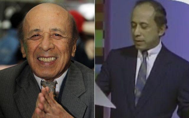 ¿Lo recuerda? Él es Alfonso Lizarazo, el primer presentador de 'Sábados Felices'