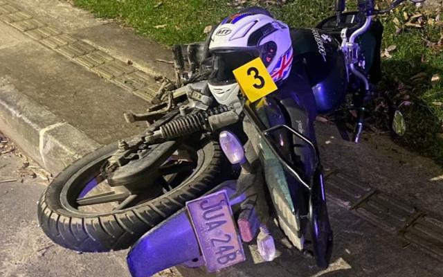 Un motociclista perdió la vida en una vía del Oriente