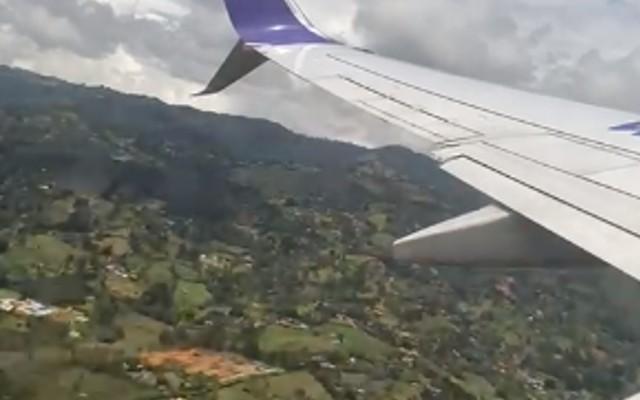 EN VIDEO ¡Qué susto! Avión tuvo que regresar a Rionegro por emergencia